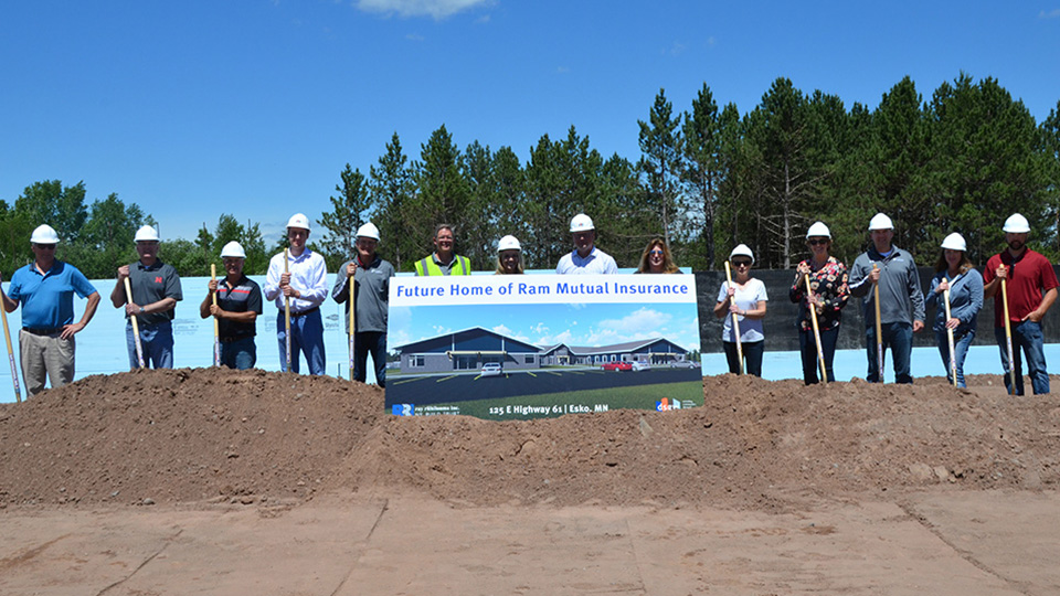 Photo of RAM Staff at Ground Breaking Ceremony