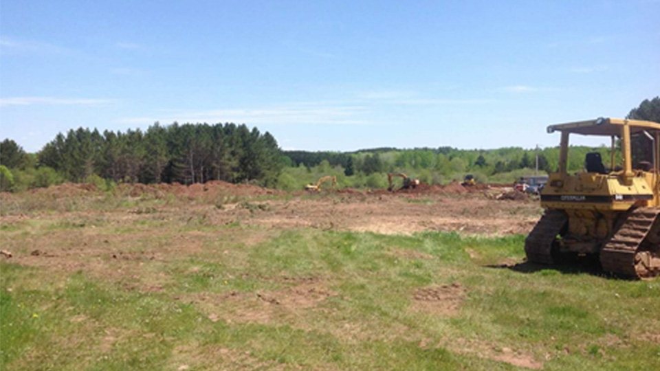 Photo of Site Clearing